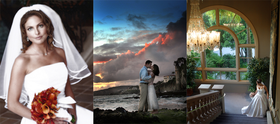 About page website weddings
